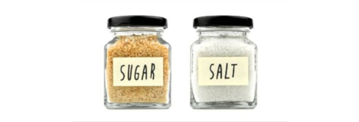 The essentials of SUGAR & SALT - in Food, Beverages and Cosmetics
