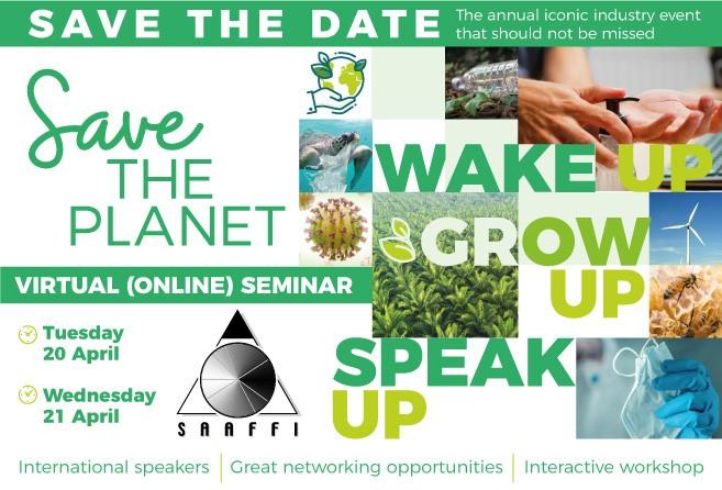 Save the Date - SAAFFI Annual Event 2021